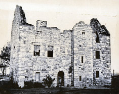 Blackhall-Manor as a ruin