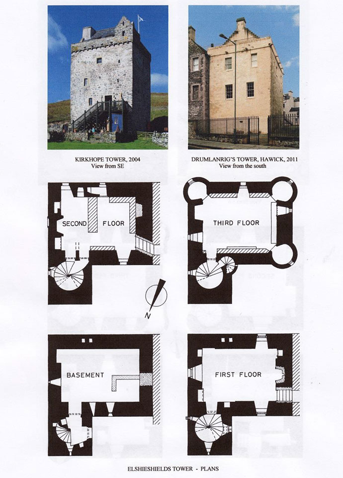Alastair maxwell irving book the scottish castles for Tower home plans