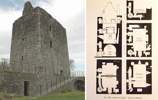 Scottish Castle House Plans The Image