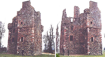 Greenknowe Castle