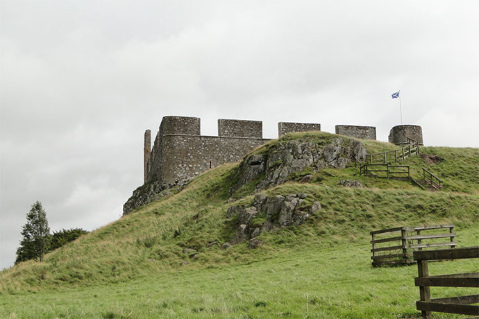 Hume Castle site