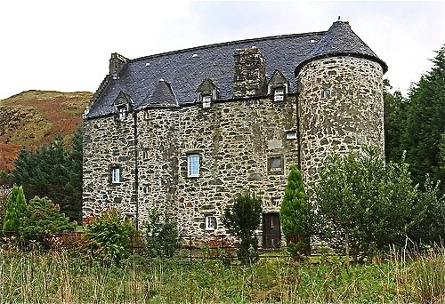 Kilmartin Castle as it is today