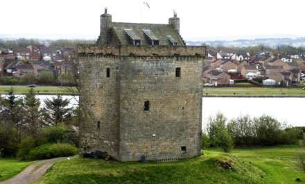 Mains Castle East Kilbride