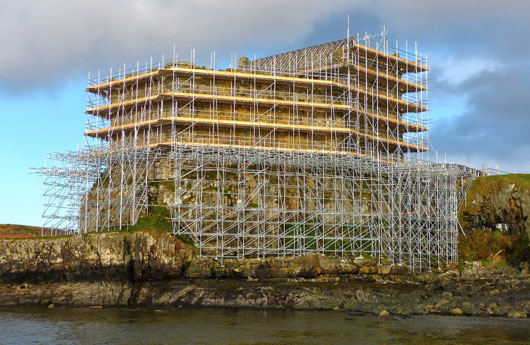 NEWS Mingarry Castle undergoing restoration
