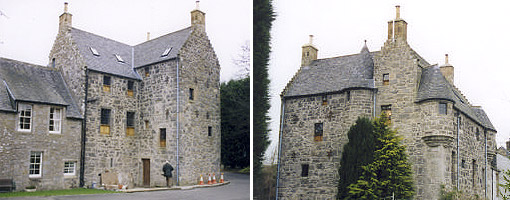 Old Sauchie - recently restored from ruin