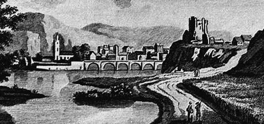 Old Sketch of Inverness Castle