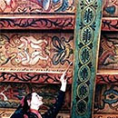Jennifer Merredew - Decorative Artist of Period Scottish Castle Painted Ceilings and Beams