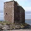Portencross Castle – weathering the storms