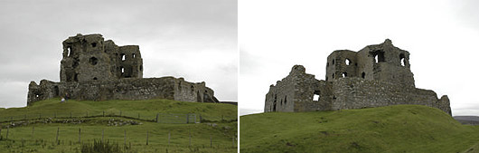 Auchindoun Castle 2009