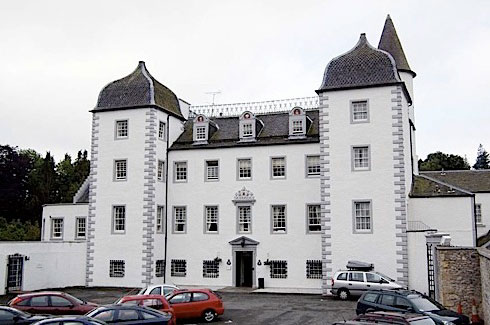 Black Barony Castle (Peebles)