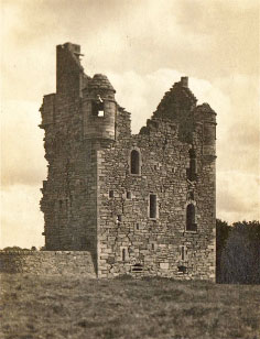 Busbie Castle - Ayr Past