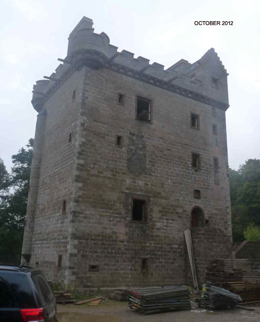 Cragietocher Tower 02 Oct 2012