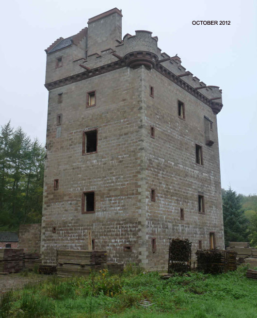 Cragietocher Tower Oct 2012