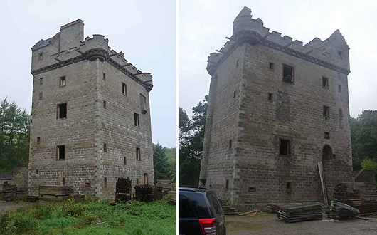 Craigietocher Tower these photos were taken in 2012
