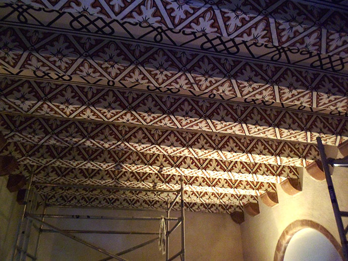 Craigietocher ceilings