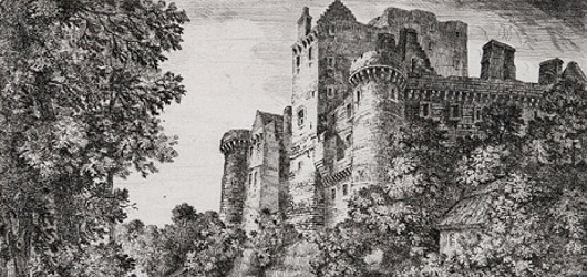 Craigmillar Castle drawing
