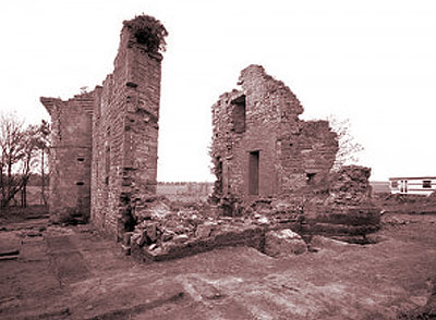 Dairsie Castle Before The Rebuild