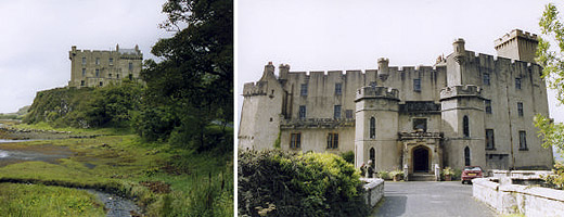 Dunvegan Castle - home of the MacLeods