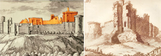 Bothwell Castle Old Sketches