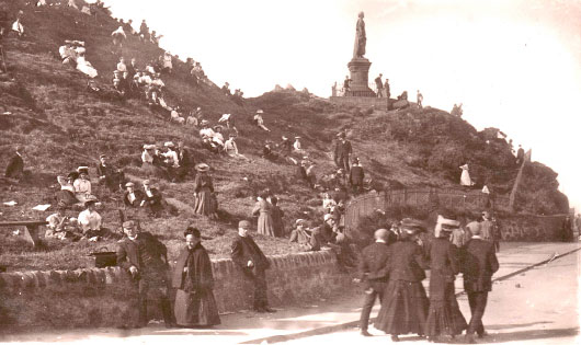 Dunoon Castle Mound 1900s