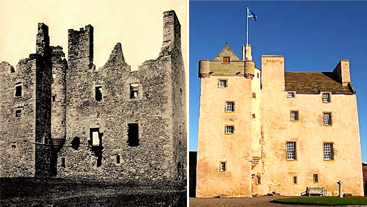 Fenton Tower - Past & Present