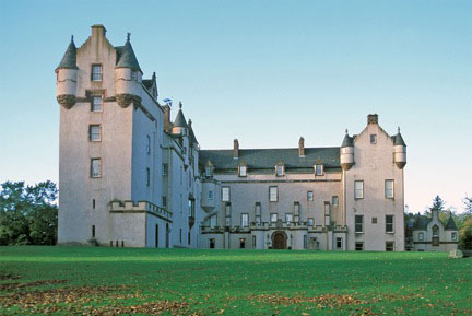 Fyvie Castle L Plan