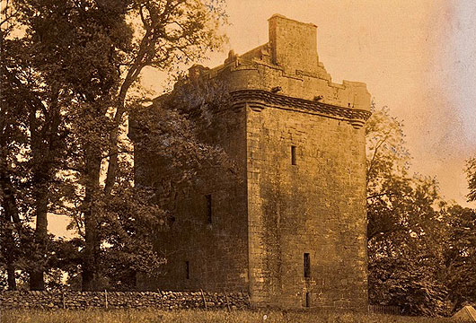 Inverquharity Castle 1880