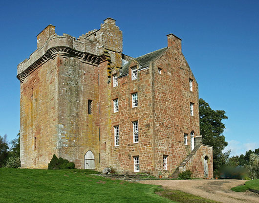 Inverquharity Castle after 1970 restoration