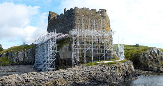 Mingary Castle Restoration