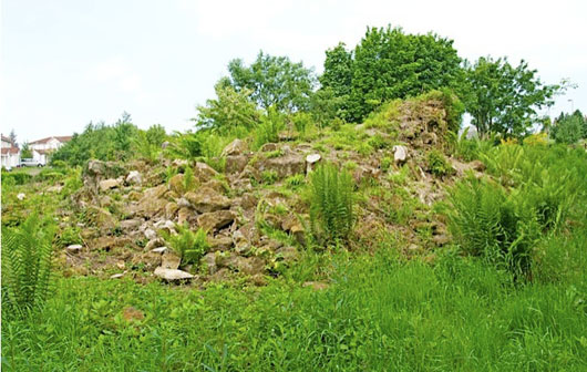 Newbyres Castle - Another view of what once was
