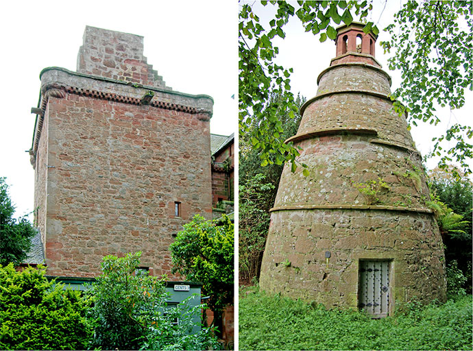 Nunraw tower dovecot