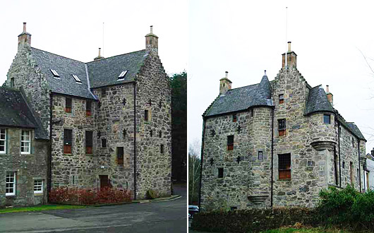 Old Sauchie Castle Stirlingshire