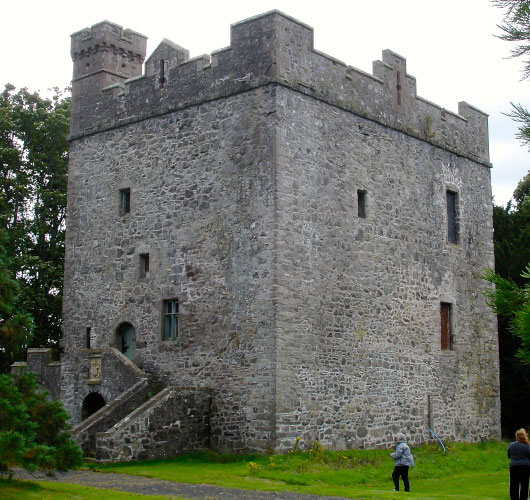 Balthayock Castle during SCA visit in 2012