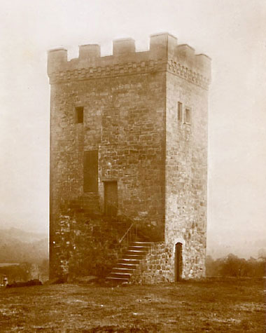 Caldwell Tower old photo