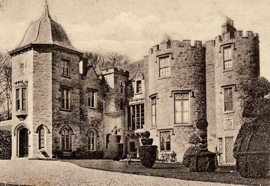 Fingask Castle old photo