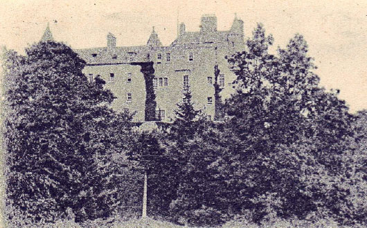 Kenmure Castle pictured in 1900
