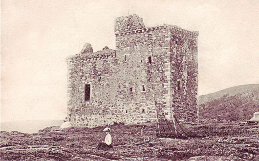 Portencross Castle in 1904