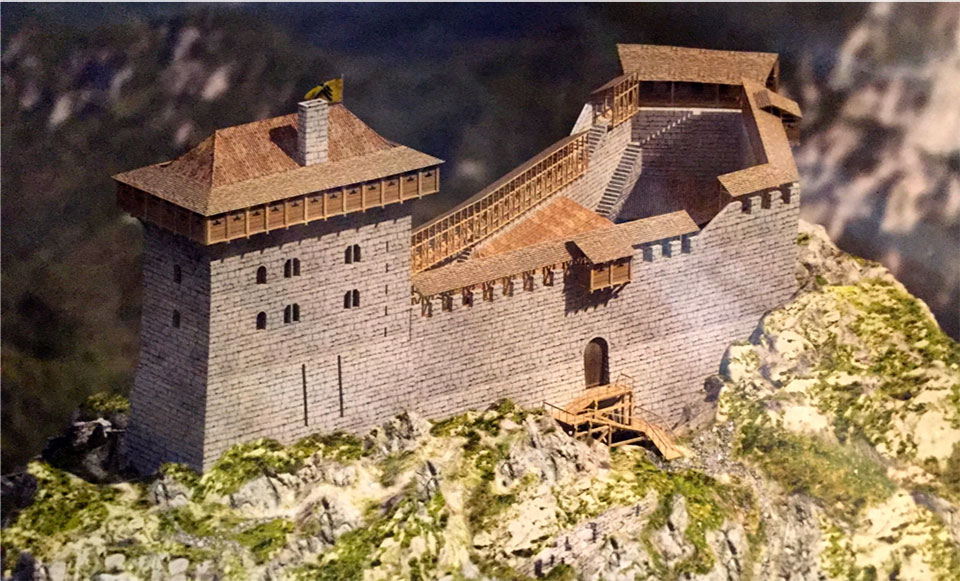 Montsegur Reconstruction