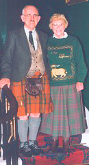 The Late Laird Glenbarr with Lady Glenbarr